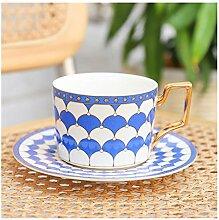 Tasse A Cafe Tasse de café marocaine et soucoupe