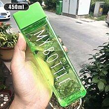 Tasse à eau 500 ml de bouteille d'eau en