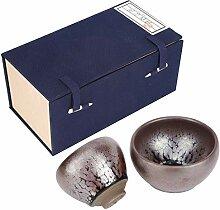 Tasse à thé en céramique `2 pièces Vintage