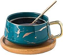 Tasse à thé en porcelaine Ensemble de tasses à
