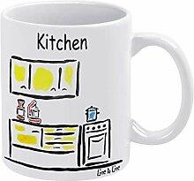 Tasse à thé et à café amusante avec