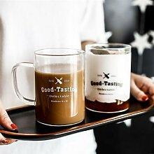 Tasse à thé et café en verre Transparent de
