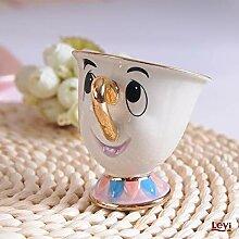 Tasse à théière, tasse de dessin animé La