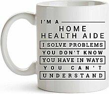 Tasse café céramique tasse thé Aide en santé