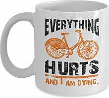 Tasse café céramique tasse thé Cycliste Every