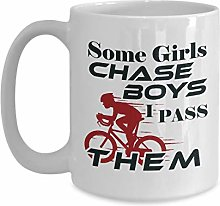 Tasse café céramique tasse thé Cycliste Some