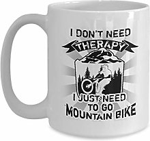 Tasse café céramique tasse thé Mountain Biker I