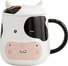 Tasse Café Coupe De Vache Céramique Tasse De