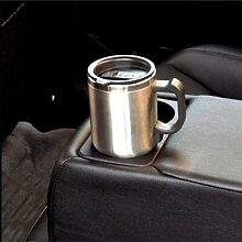 Tasse chauffante isotherme en acier inoxydable