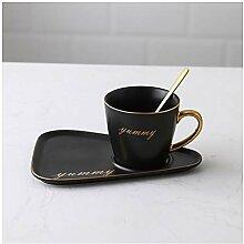 Tasse Cuillère à café en céramique mat et