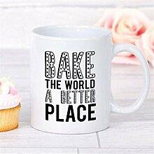 Tasse de boulangerie, cadeau de boulangerie,