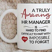 Tasse de café Coustom de ressources humaines de