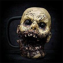 Tasse de café de crâne - Tasse de crâne de