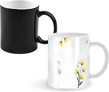 Tasse de café magique de tasse changeante de