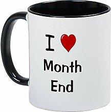 Tasse de comptable financier J'aime la tasse