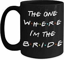 Tasse de mariée inspirée par le cadeau de