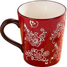 Tasse De Thé À Café En Céramique Peinte À La