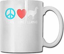 Tasse de thé drôle de tasse de café d'amour