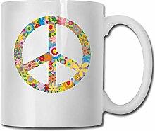 Tasse de thé drôle de tasse de café de signe de