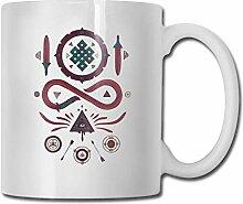 Tasse de thé en céramique sans fin de tasse de