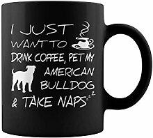 Tasse de thé ou de café Je veux juste boire du