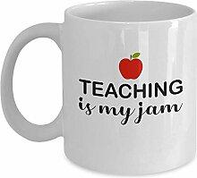 Tasse en céramique « Teaching is My Jam » -