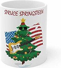 Tasse en épicéa Springsteen, musique, amour,
