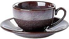 Tasse et soucoupe en porcelaine service à thé