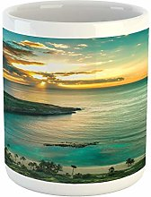 Tasse hawaïenne Sunrise Over Hanauma Bay Oahu