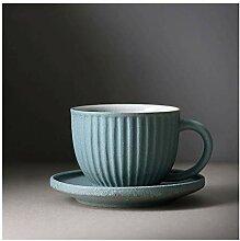 Tasse Rayure en céramique tasse de thé tasses à