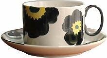 Tasse Rétro l'après-midi de thé fleur tasse