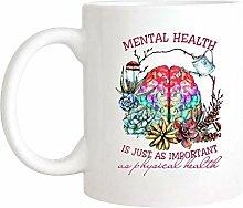 Tasse santé mentale, métal sain est tout aussi