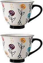 Tasse Tasse de café en céramique 14.9 Oz café