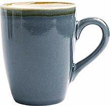 Tasses à café classiques multicolores en option
