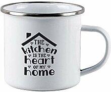 Tasses à café de camping - The Kitchen is The