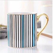 Tasses à café de style européen en porcelaine