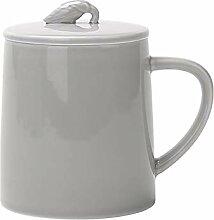 Tasses à café en céramique de couleur pure avec