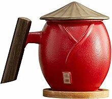 Tasses à café en céramique de taille moyenne