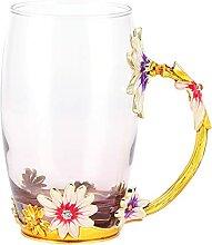 Tasses à café en verre Evazory, tasse à thé en