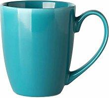 Tasses à café simples en céramique de couleur