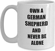 Tasses de berger allemandes cadeaux drôles pour