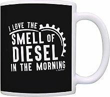 Tasses Mug Gobelet Chauffeur de camion, j'aime