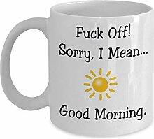 Tasses Mug Gobelet Pas une personne du matin,
