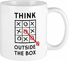 Tasses Mug Gobelet Think Outside The Box Tasses