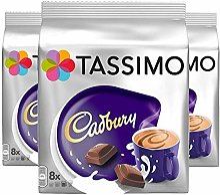 TASSIMO CADBURY Lot de 3 paquets de 24 capsules de