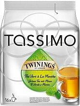 Tassimo Twinings Green Tea & Mint, 16 T-Discs,