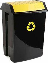 TATAY Poubelle de Recyclage, Capacité 50L,