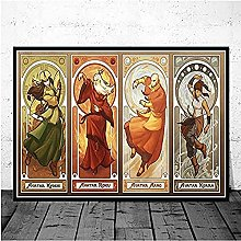 Tattooshe Poster Avatar Le Dernier Maître De