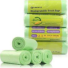 TAWAPYZ Sacs Poubelle Biodégradables, 4 Rouleaux