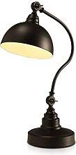 TBNB Lampe de Bureau Noire Vintage, Lampe de